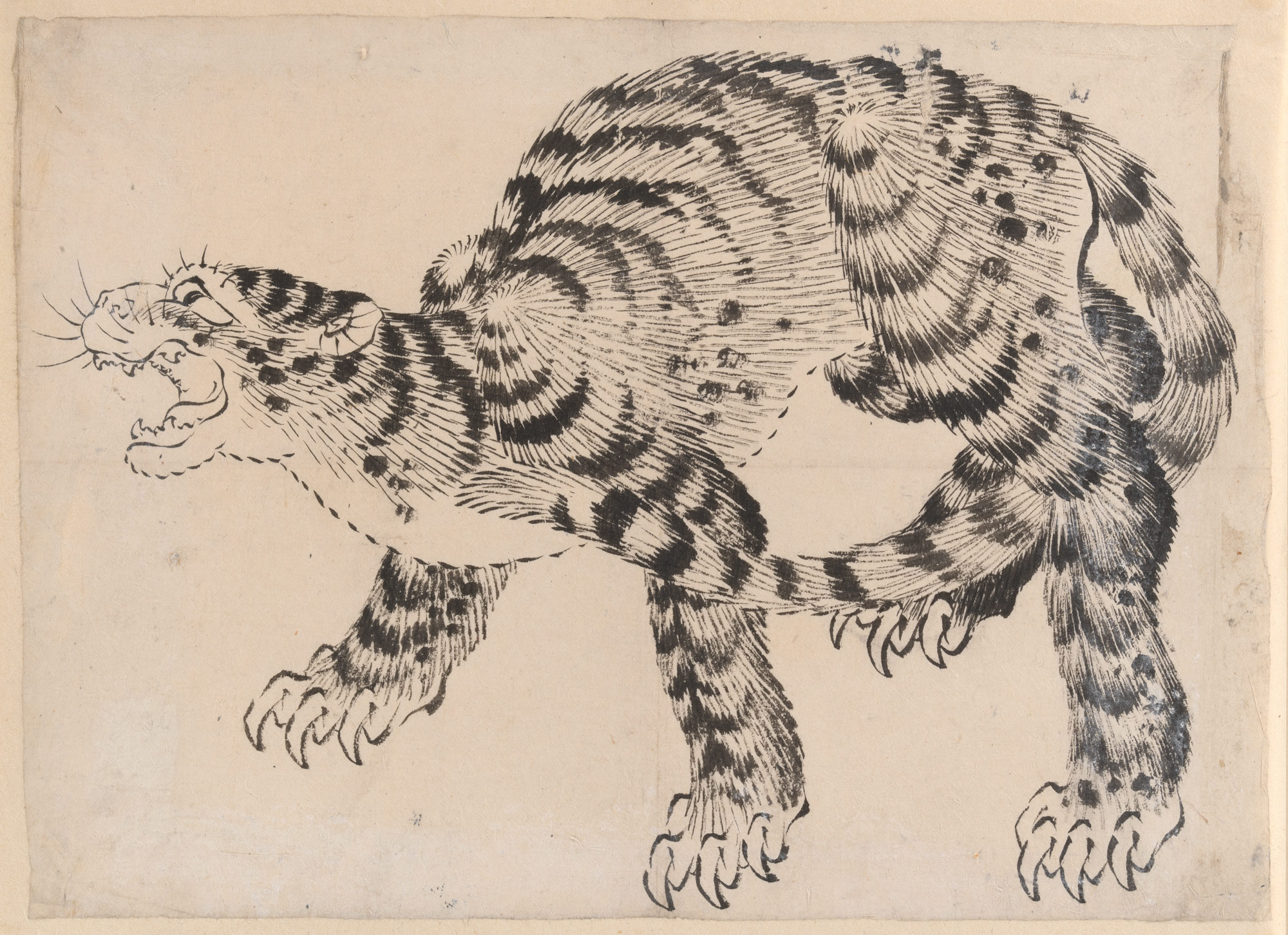 East Asian Cultural Exchange In Tiger And Dragon Paintings Essay