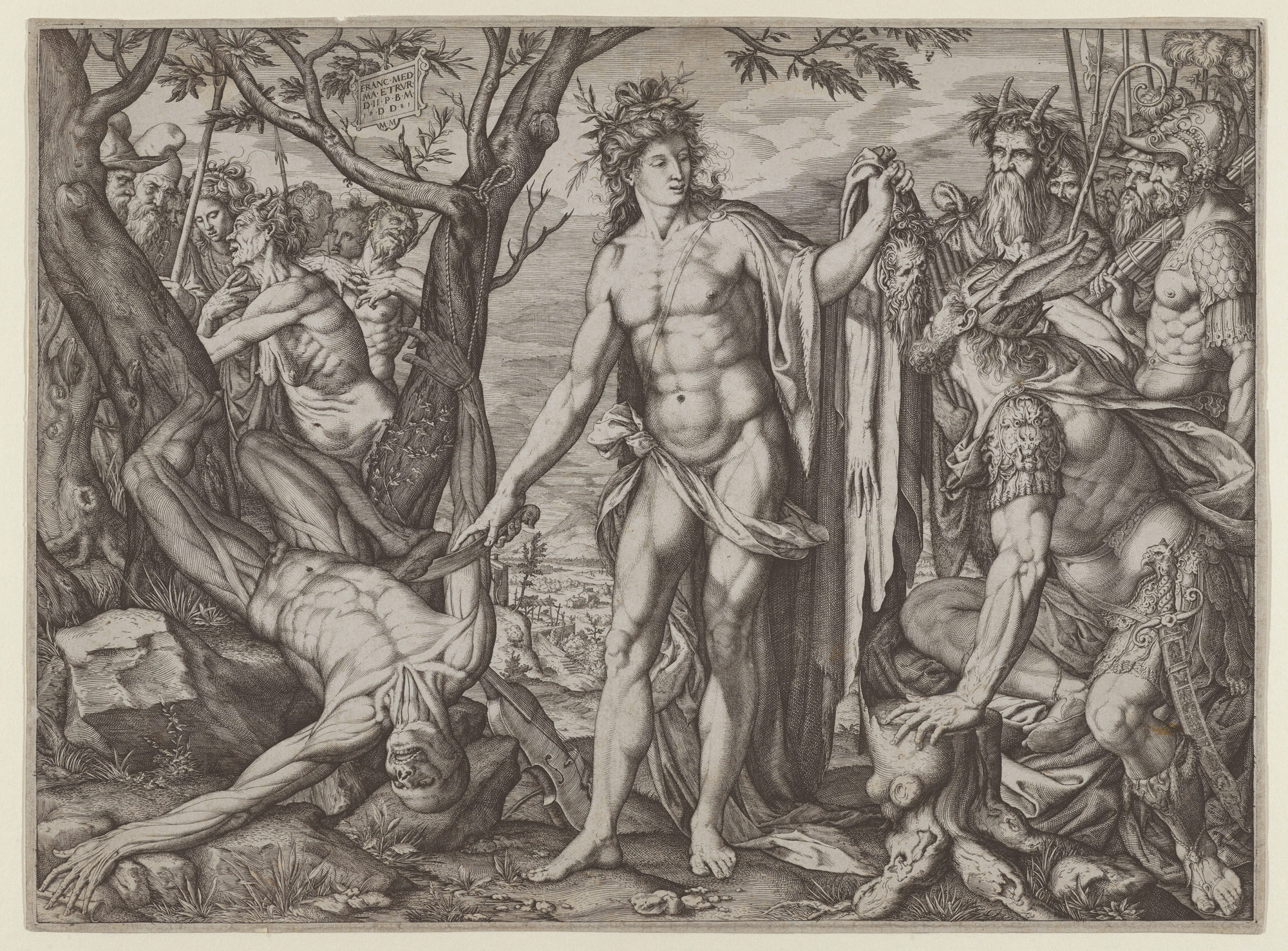 Apollo and Marsyas and the Judgment of Midas