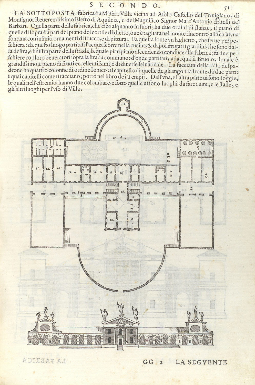 Italian Villa Blueprints Home Mansion