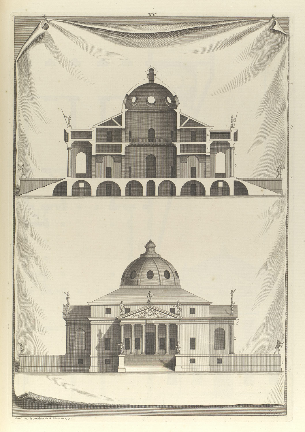 Villa Rotunda In The Architecture Of A Palladio In Four Books