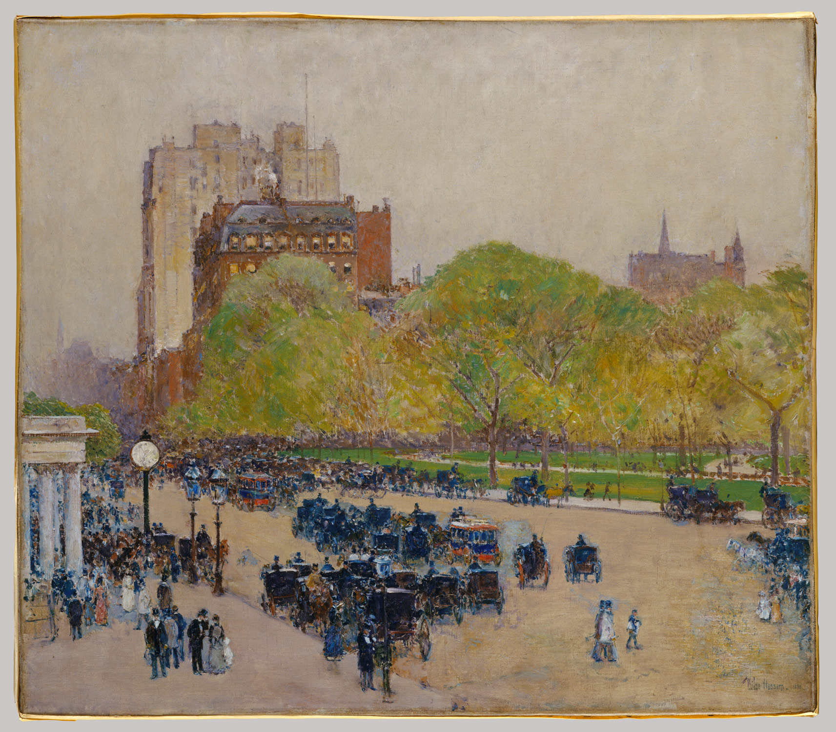 spring morning in the heart of the city childe hassam 43 116 1