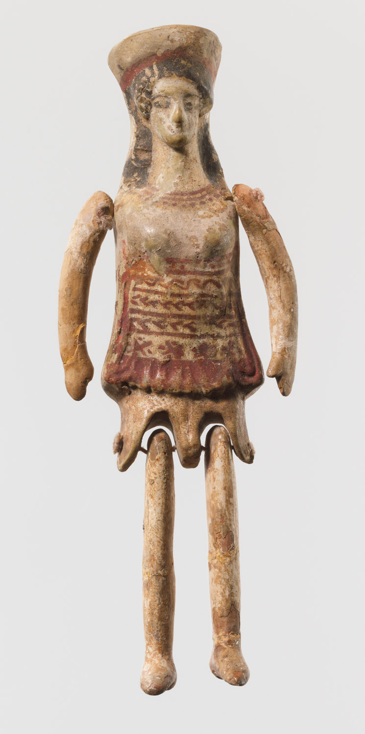 Terracotta jointed doll