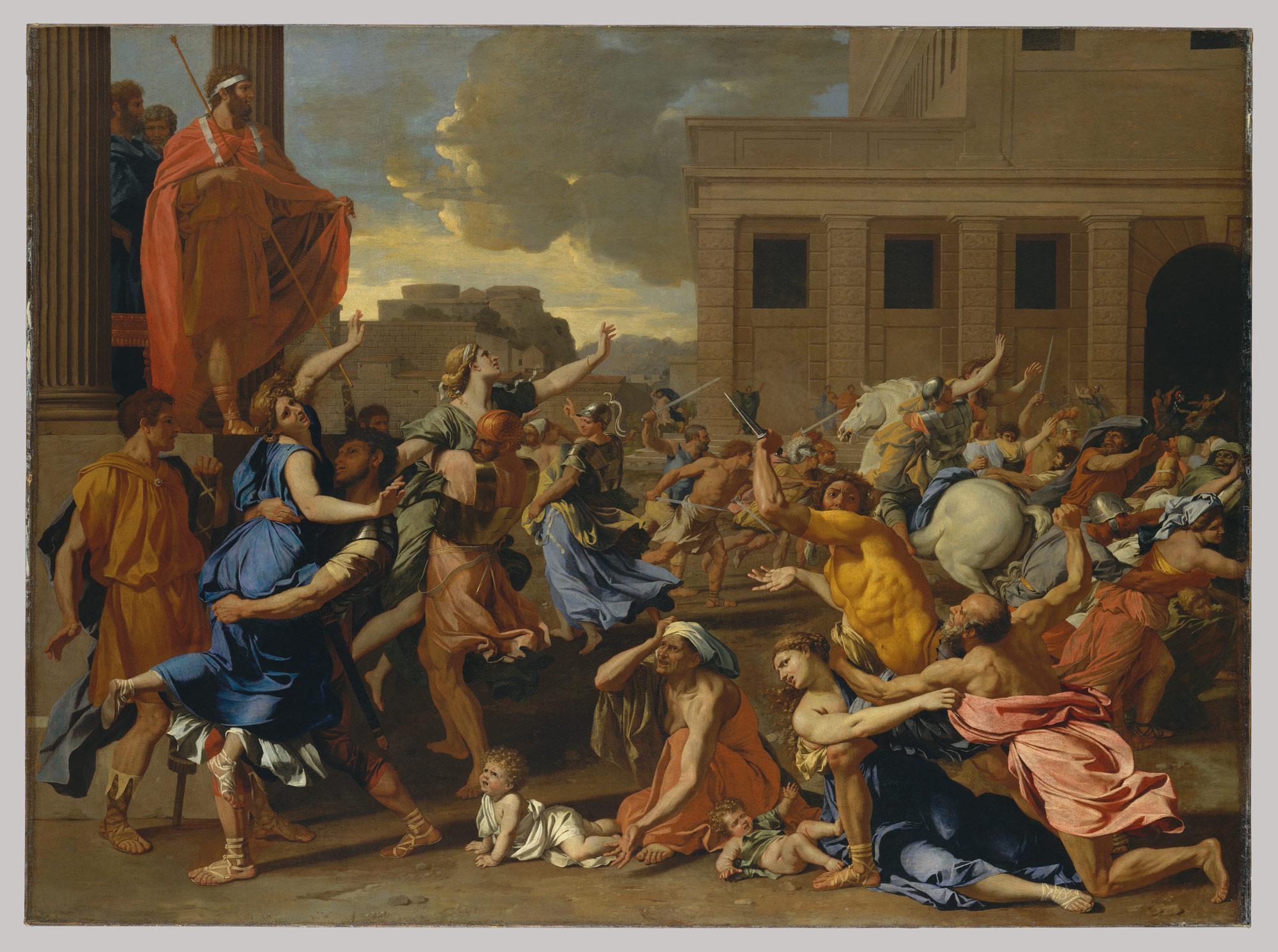 Fabuleux The Abduction of the Sabine Women | Nicolas Poussin | 46.160  ZM63