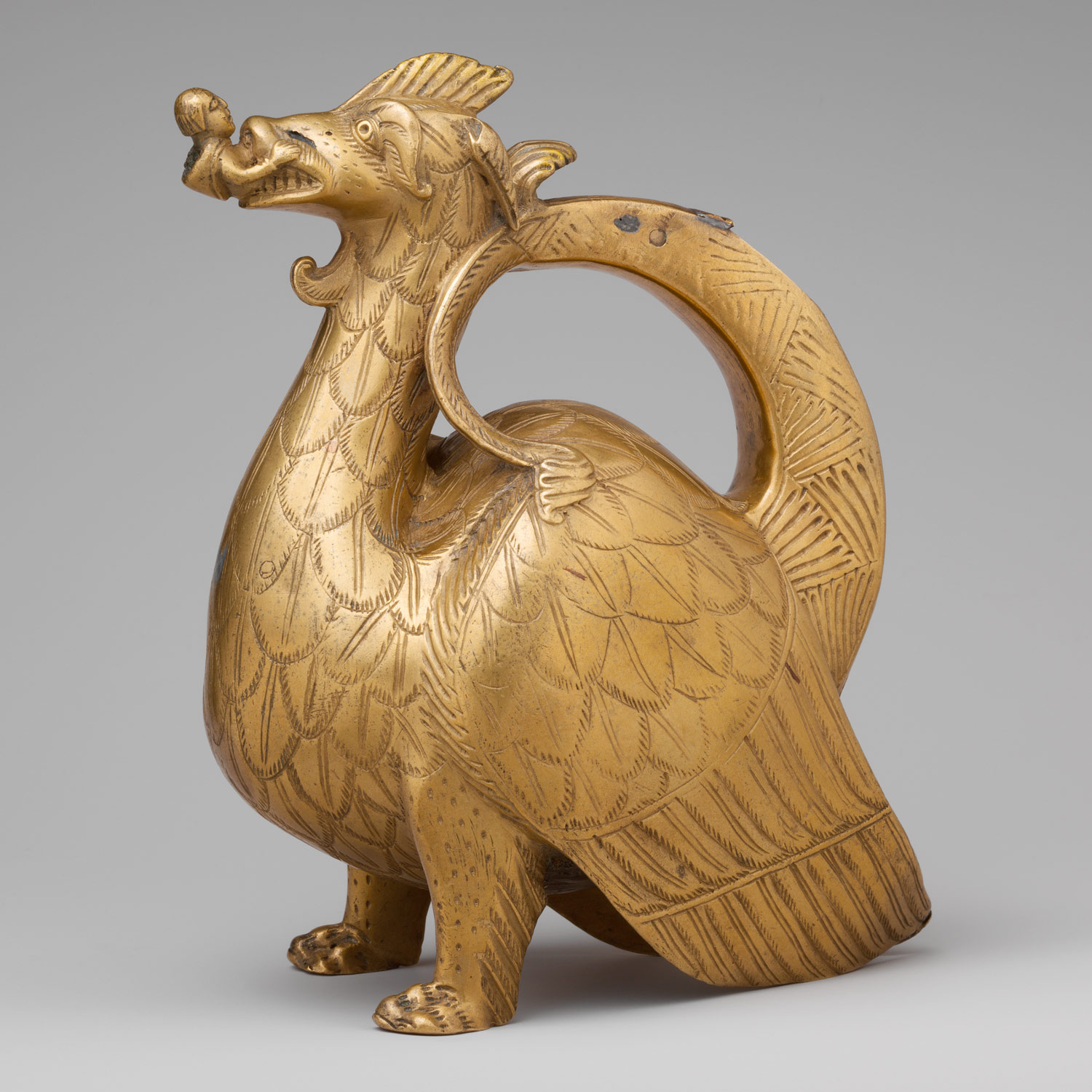 Medieval aquamanilia essay heilbrunn timeline of art history aquamanile in the form of a dragon sciox Images