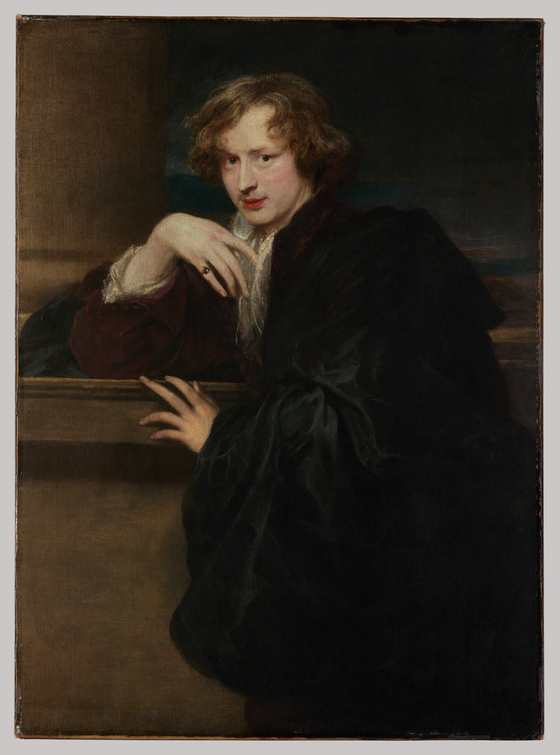 self portrait anthony van dyck work of art self portrait