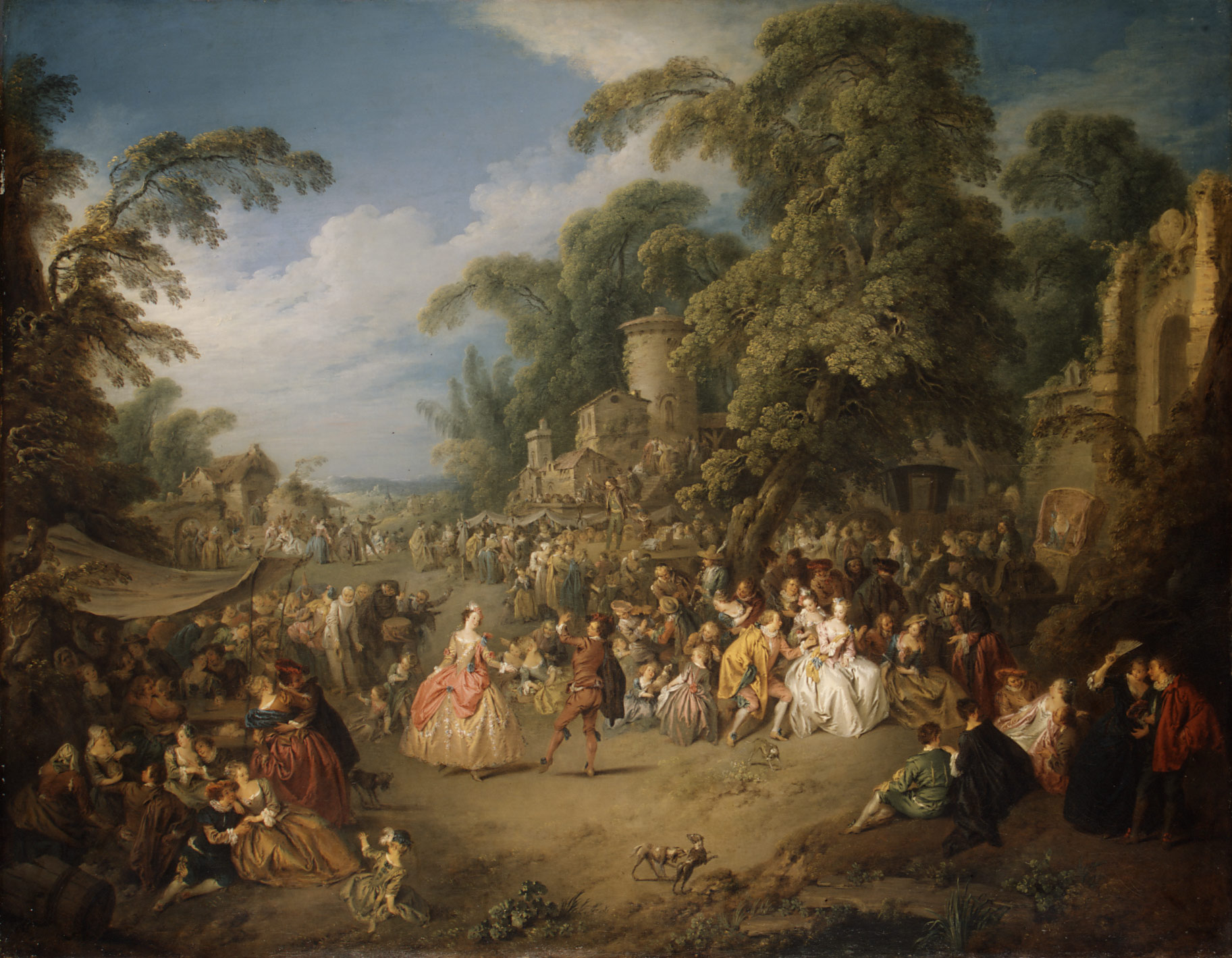 The Fair at Bezons