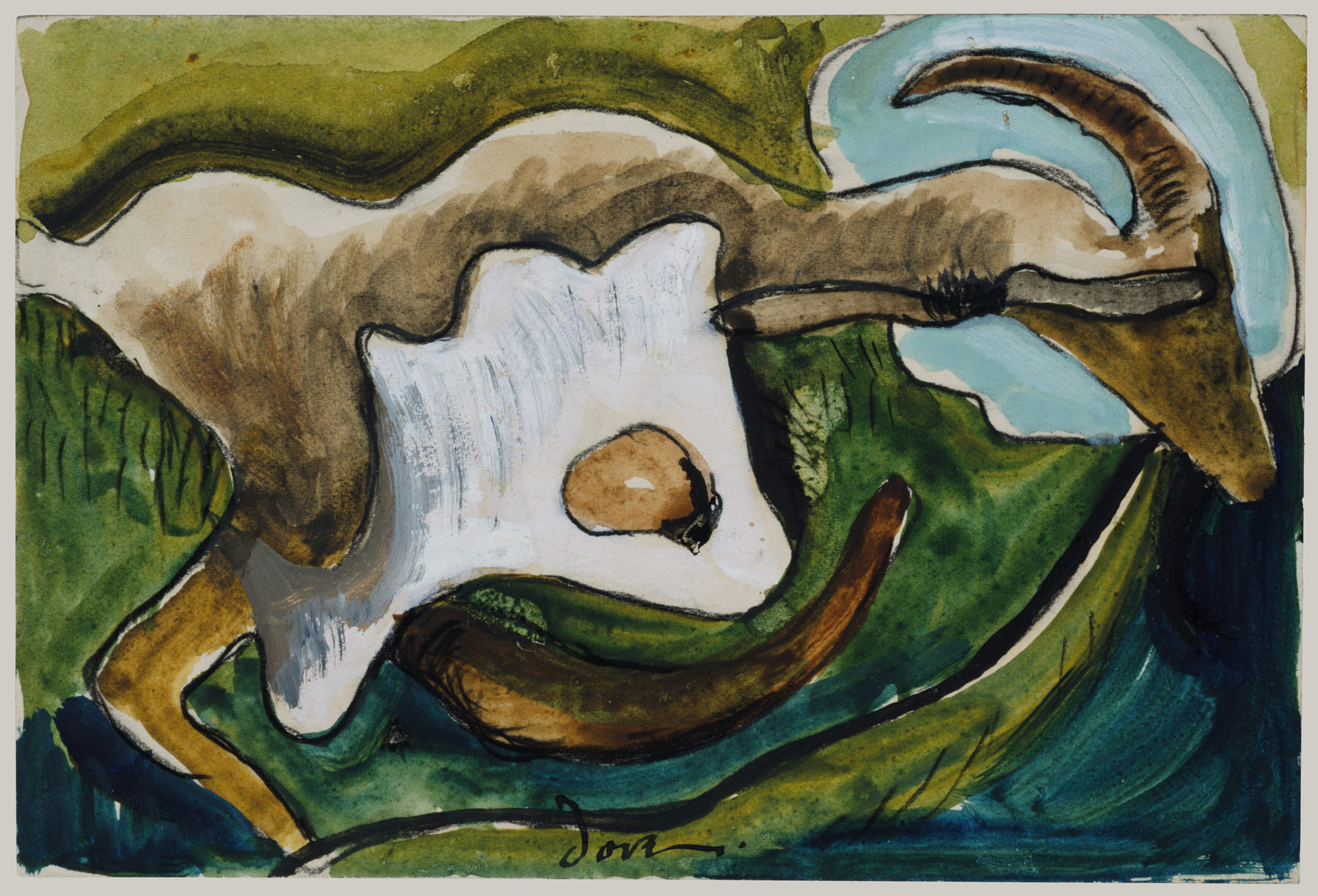 Study for Goat