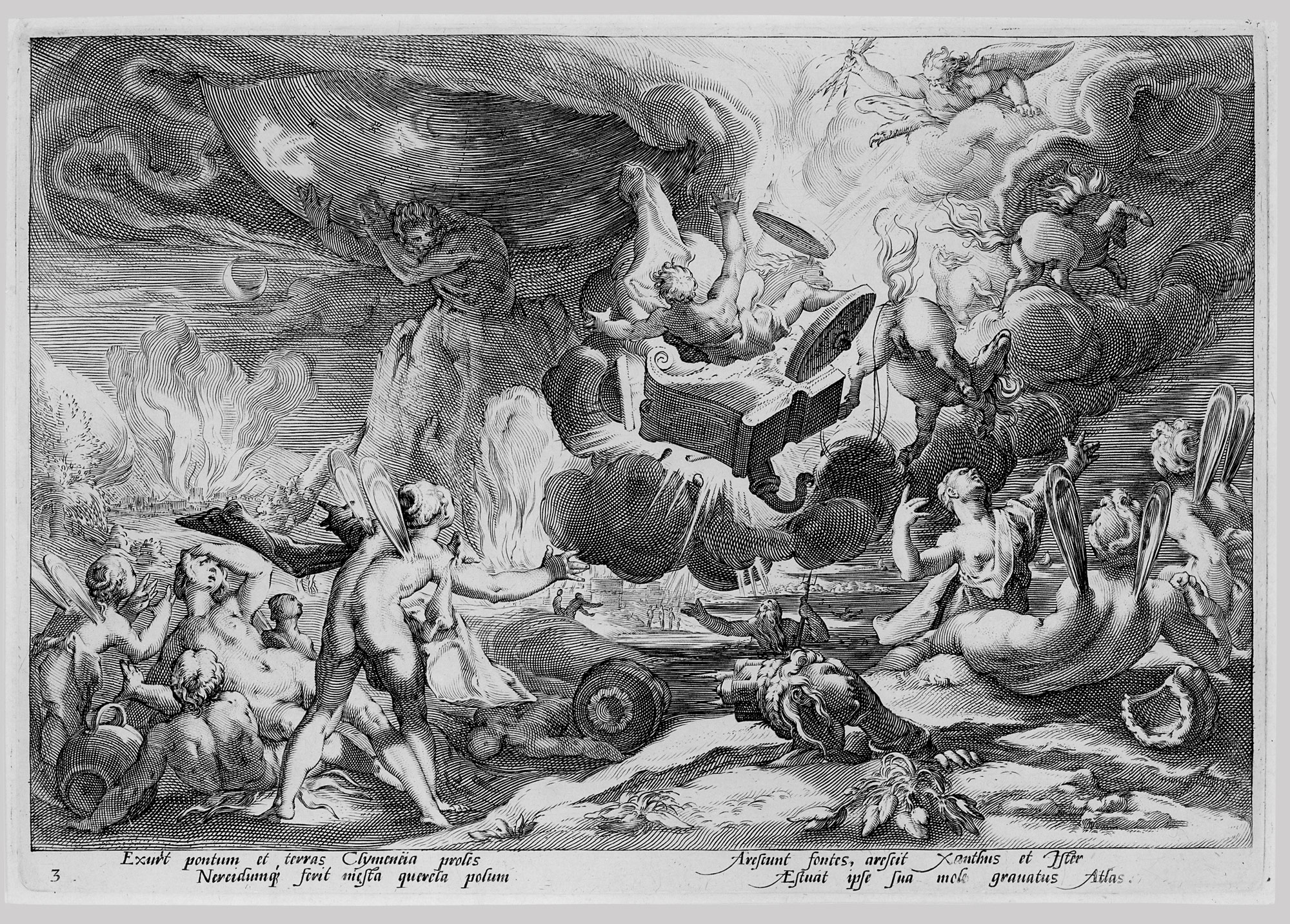 The Fall of Phaeton, from the series Ovids Metamorphoses