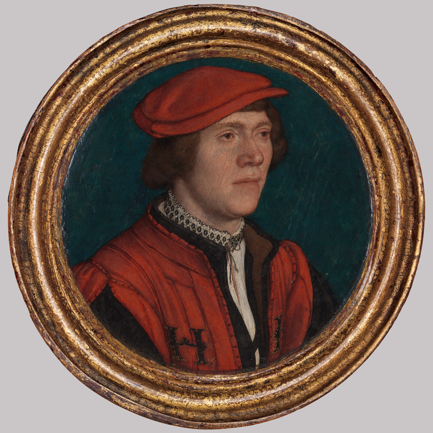 Portrait of a Man in a Red Cap