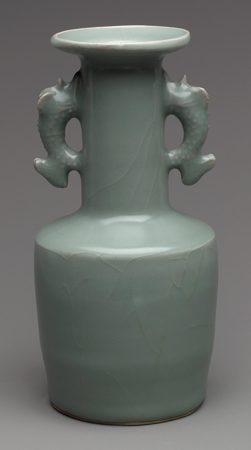 Vase with Dragonfish Handles