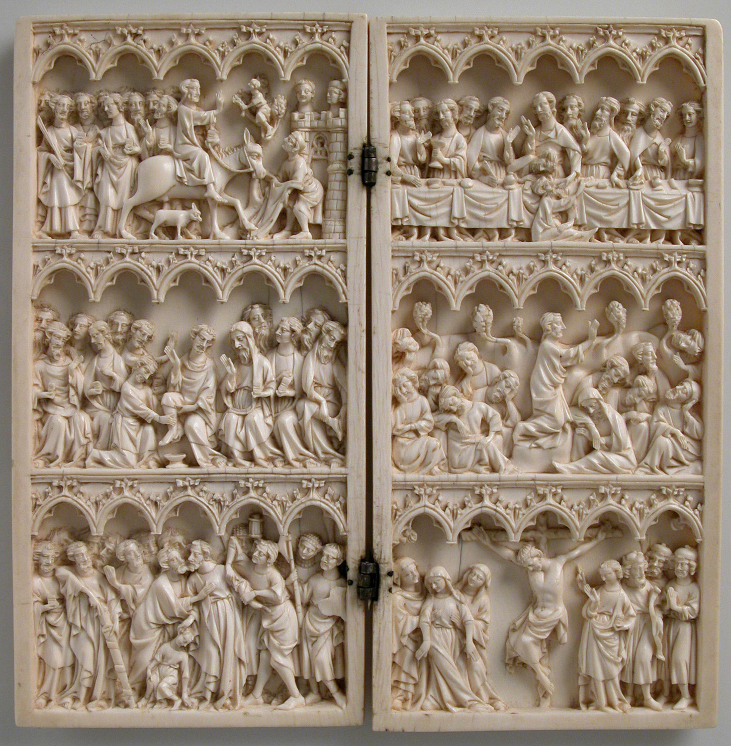 Diptych with Scenes from Christs Passion