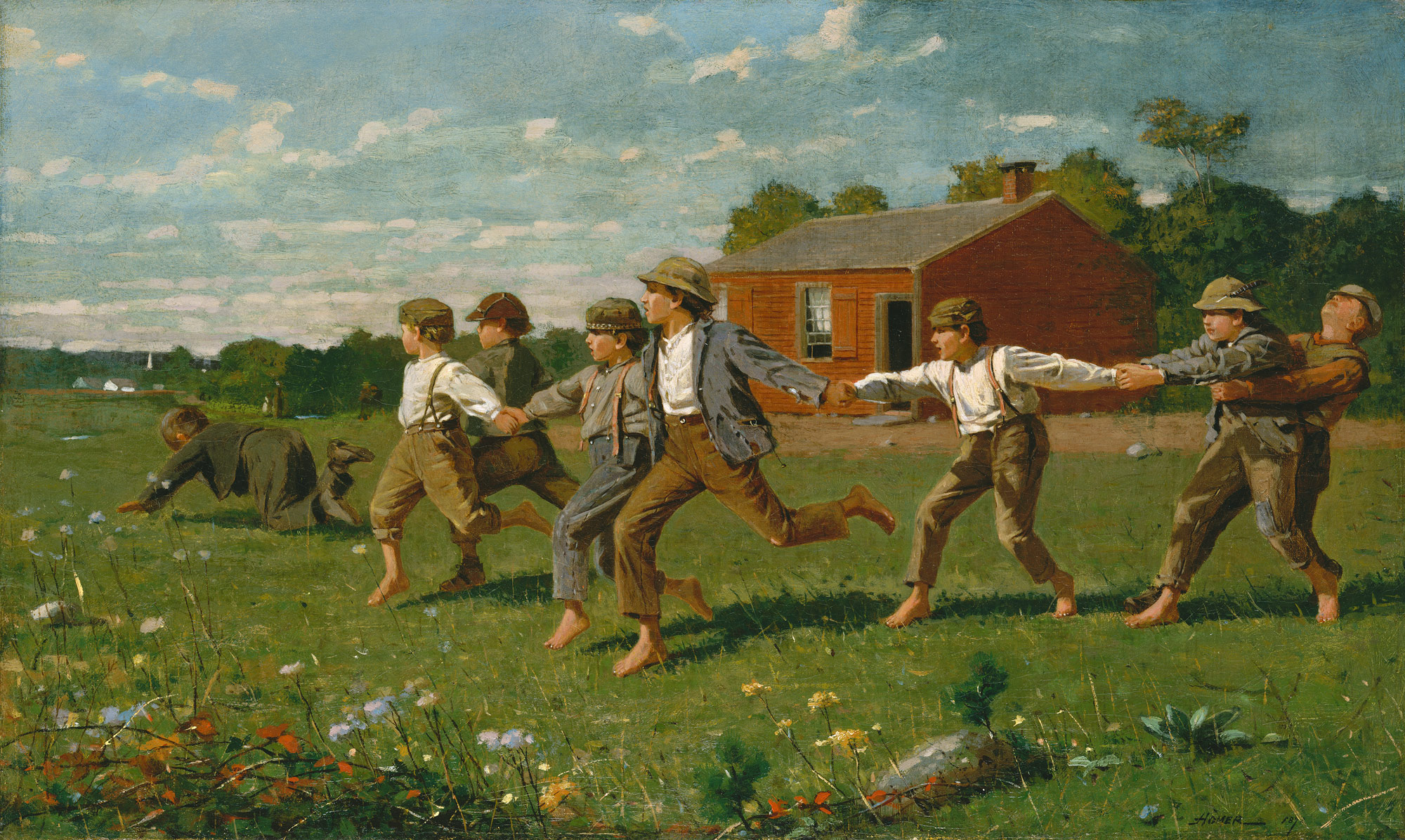 Snap the Whip | Winslow Homer | 50 41 | Work of Art