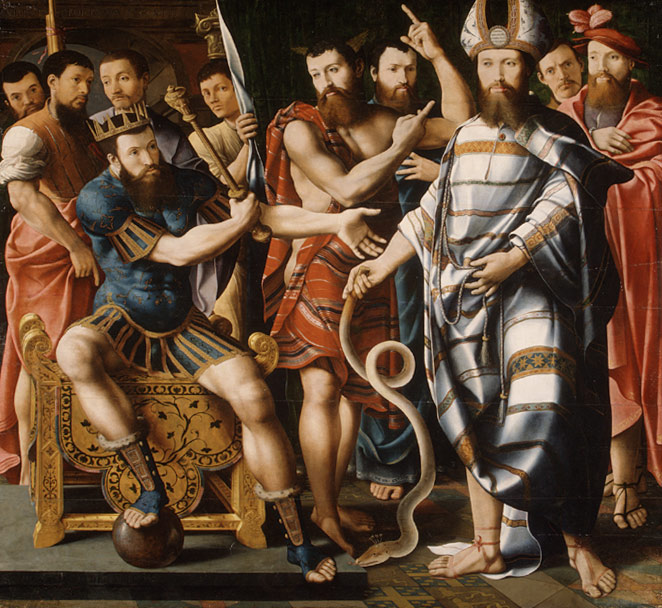 Moses and Aaron before Pharaoh: An Allegory of the Dinteville Family