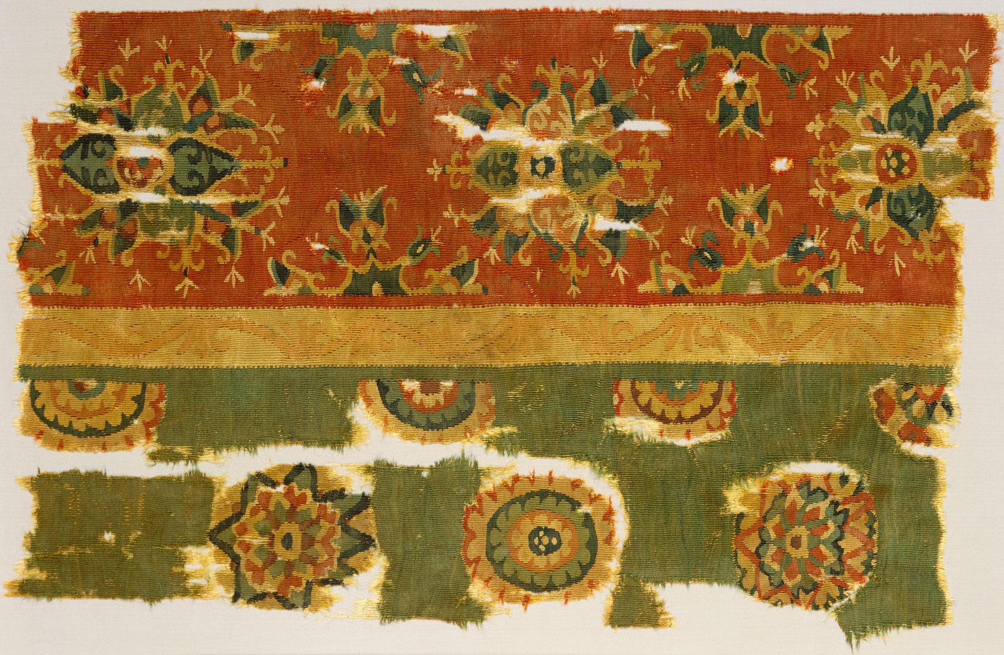 Woven Tapestry Fragment Work Of Art Heilbrunn Timeline