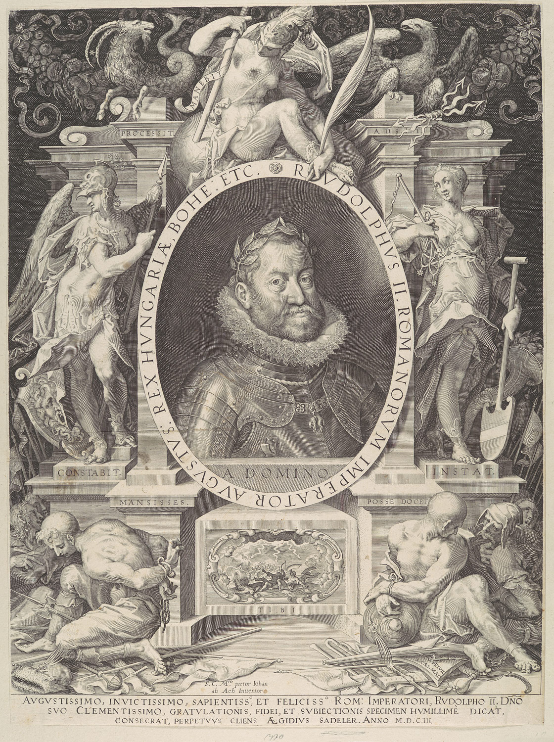Portrait of Rudolph II