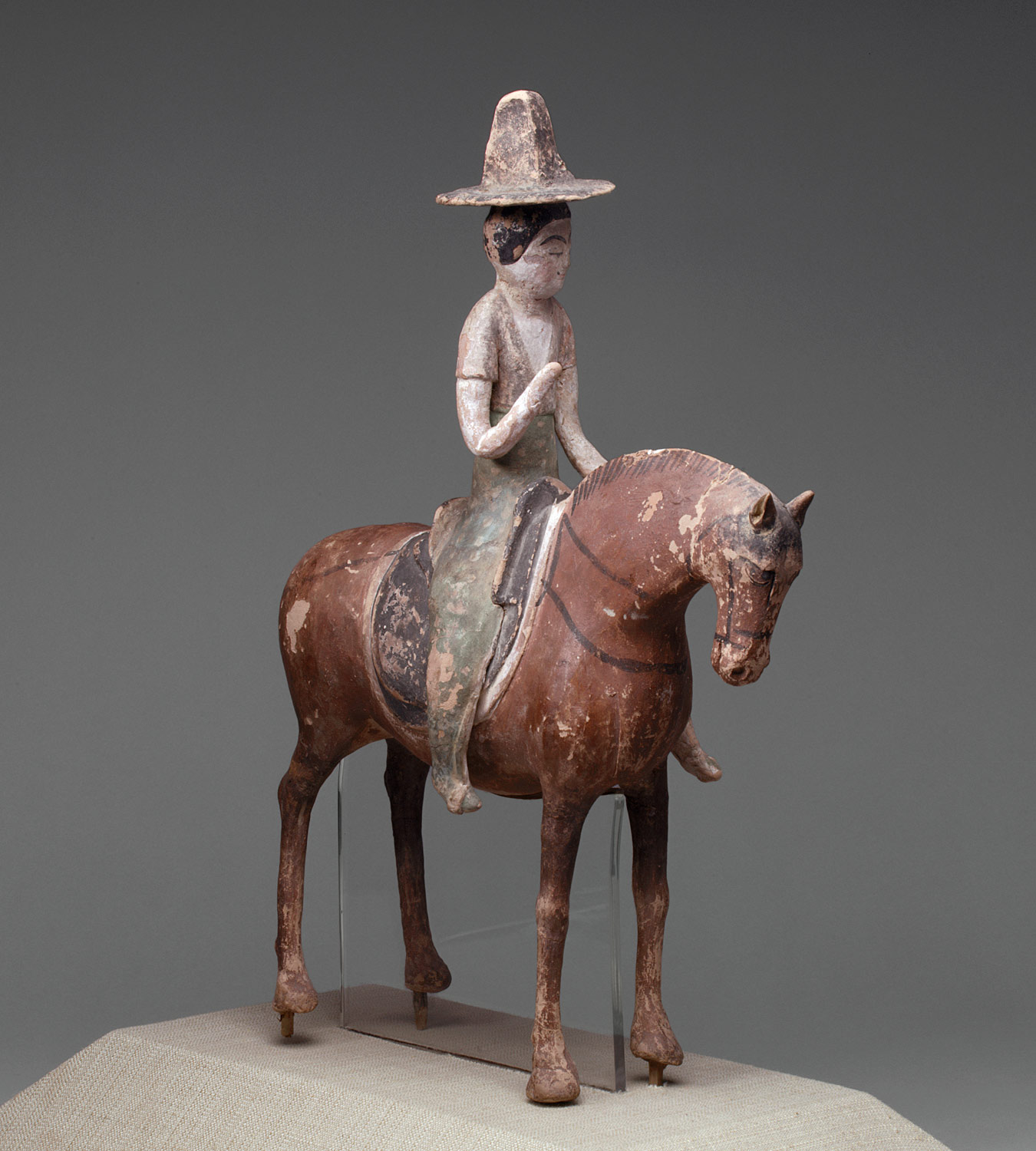 Horse with Female Rider