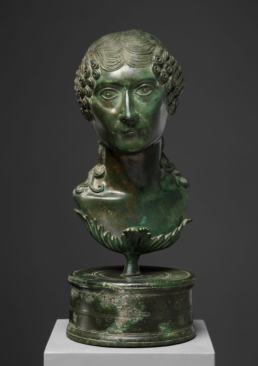 Portrait bust of a Roman matron