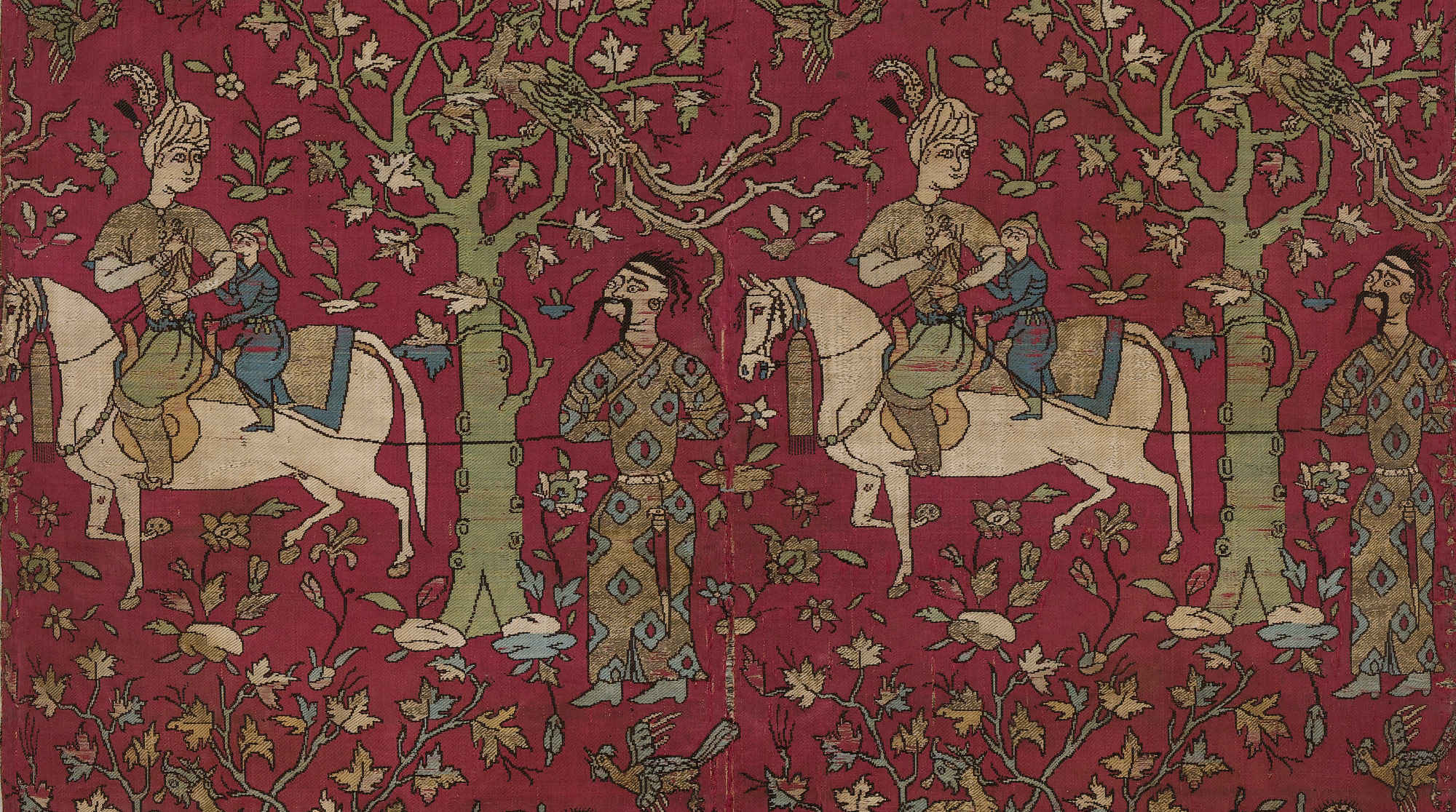 Safavid Courtiers Leading Georgian Captives