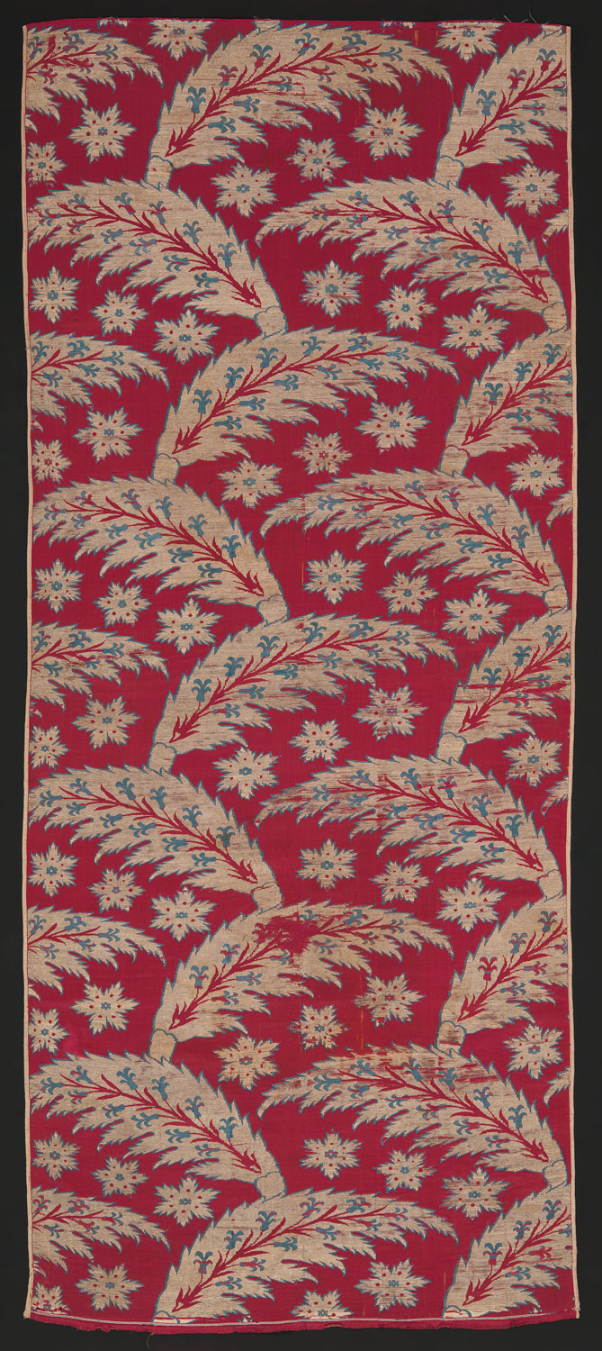 silks from ott turkey essay heilbrunn timeline of art loom width serrated leaf design