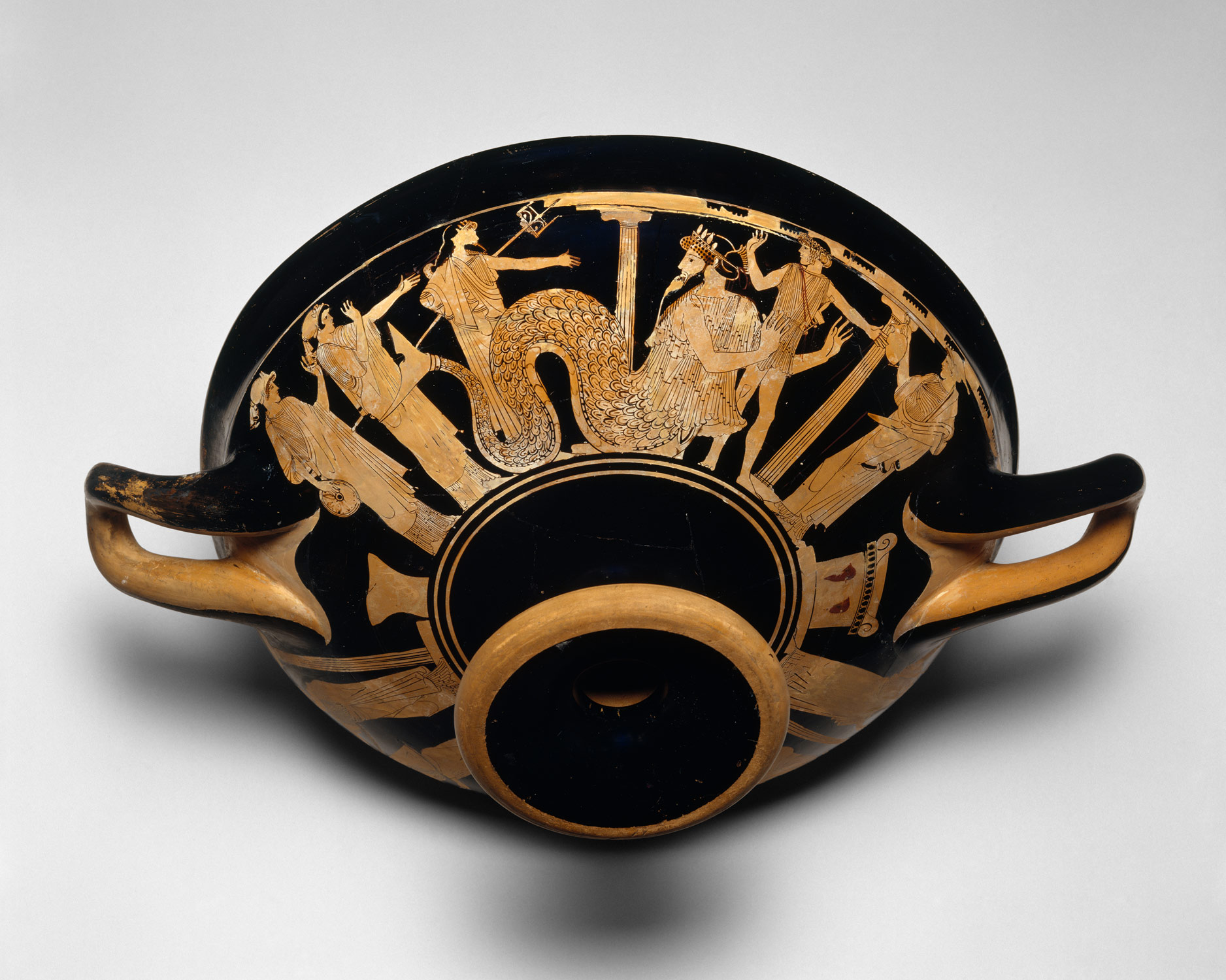 Briseis Painter Kylix Red Figure Style