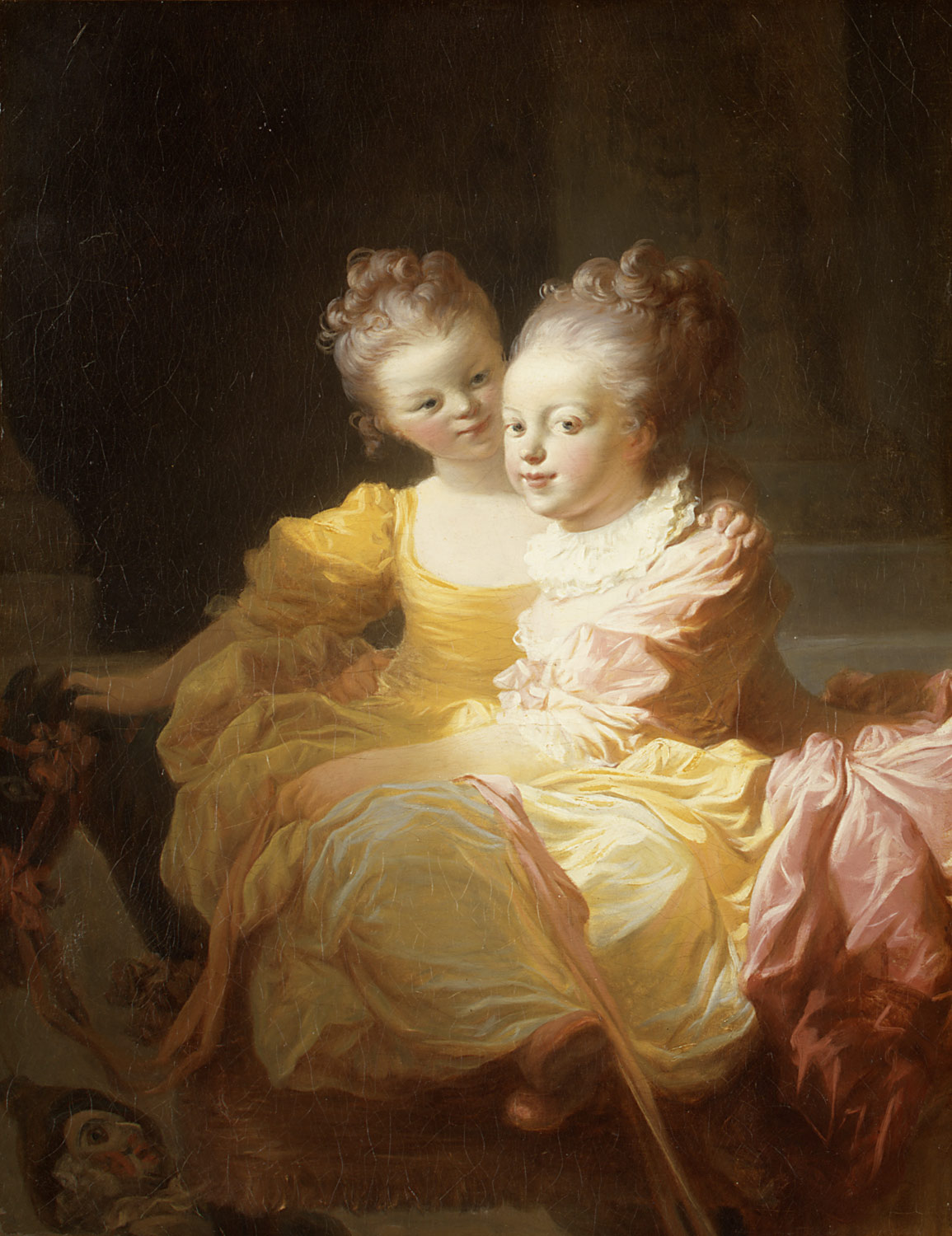 The Two Sisters | Jean Honoré Fragonard | 53 61 5 | Work of Art