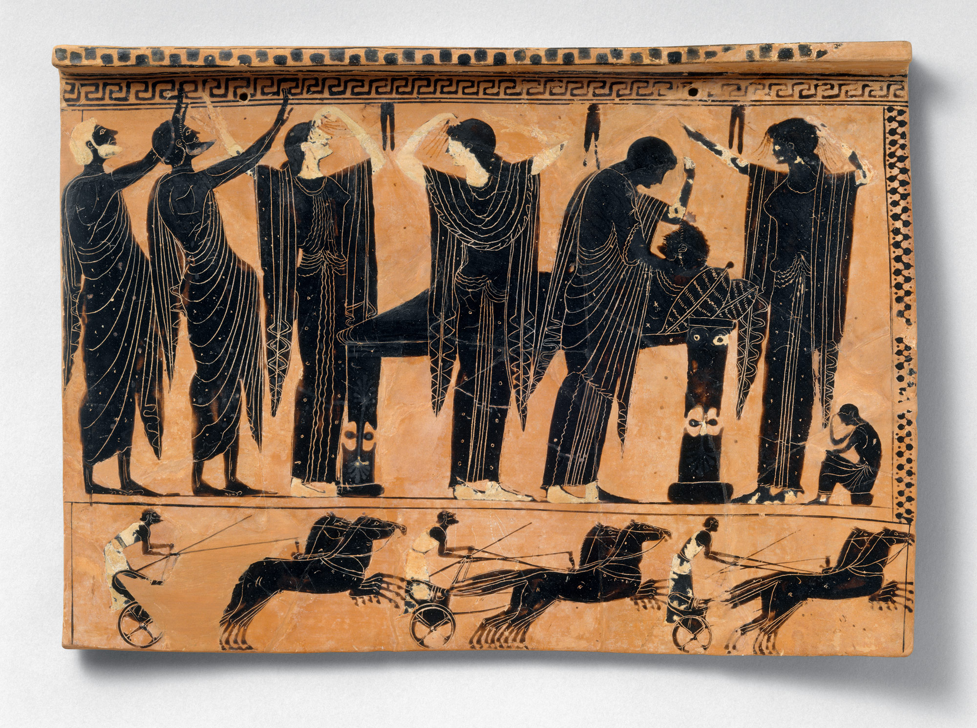 death burial and the afterlife in ancient essay   terracotta funerary plaque