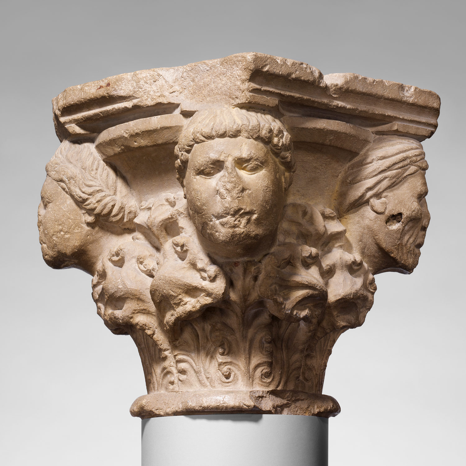 Capital with Four Heads