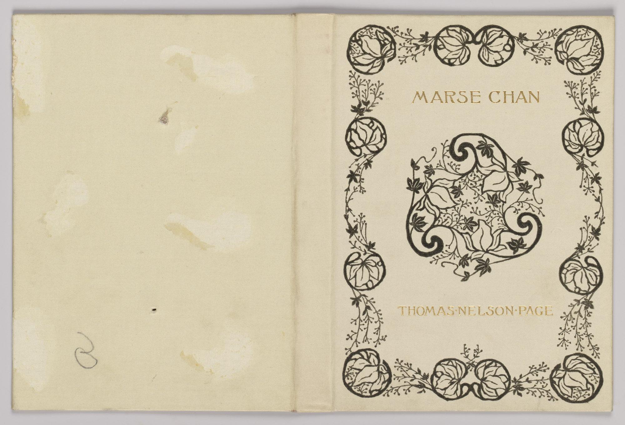 Marse Chan A Tale Of Old Virginia Alice Cordelia Morse