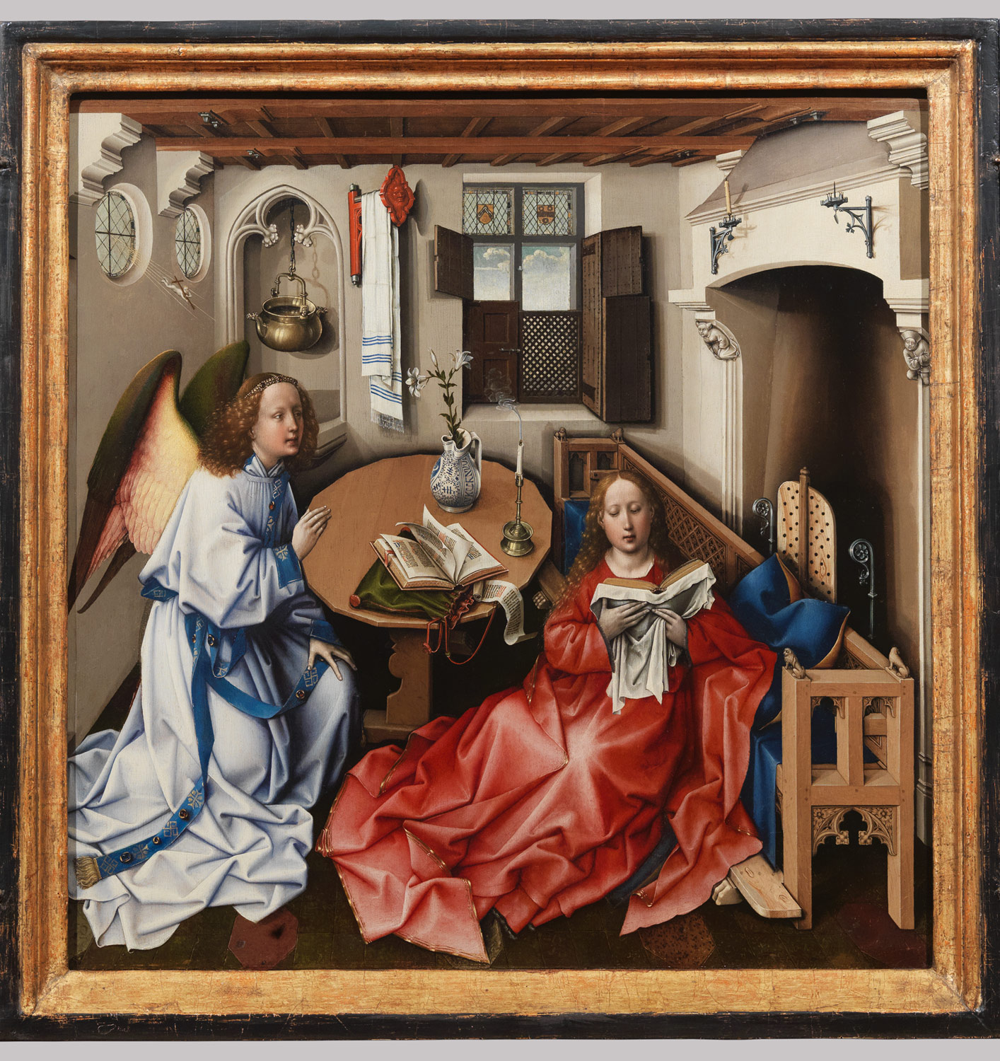 portraiture in renaissance and baroque europe essay heilbrunn  annunciation triptych merode altarpiece
