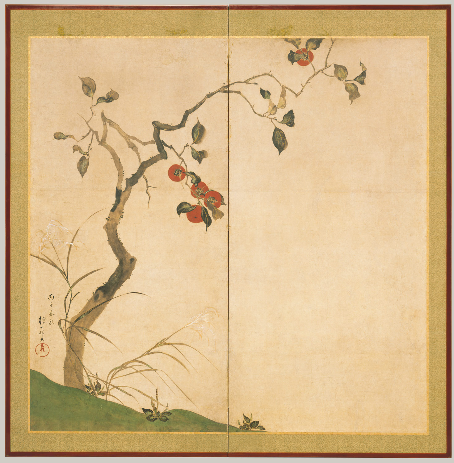 painting formats in east asian art essay heilbrunn timeline of persimmon tree