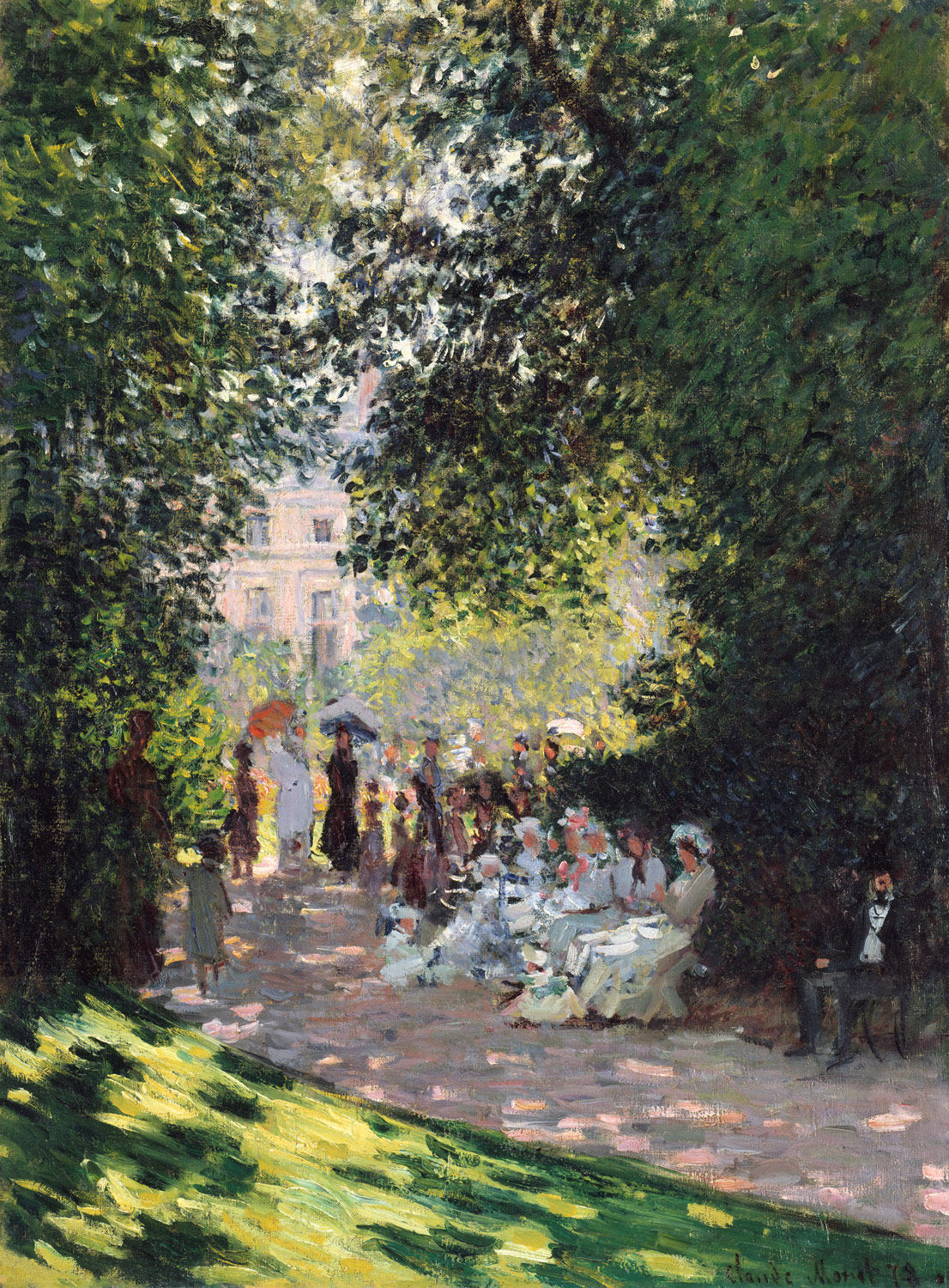 Women In The Garden Claude Monet