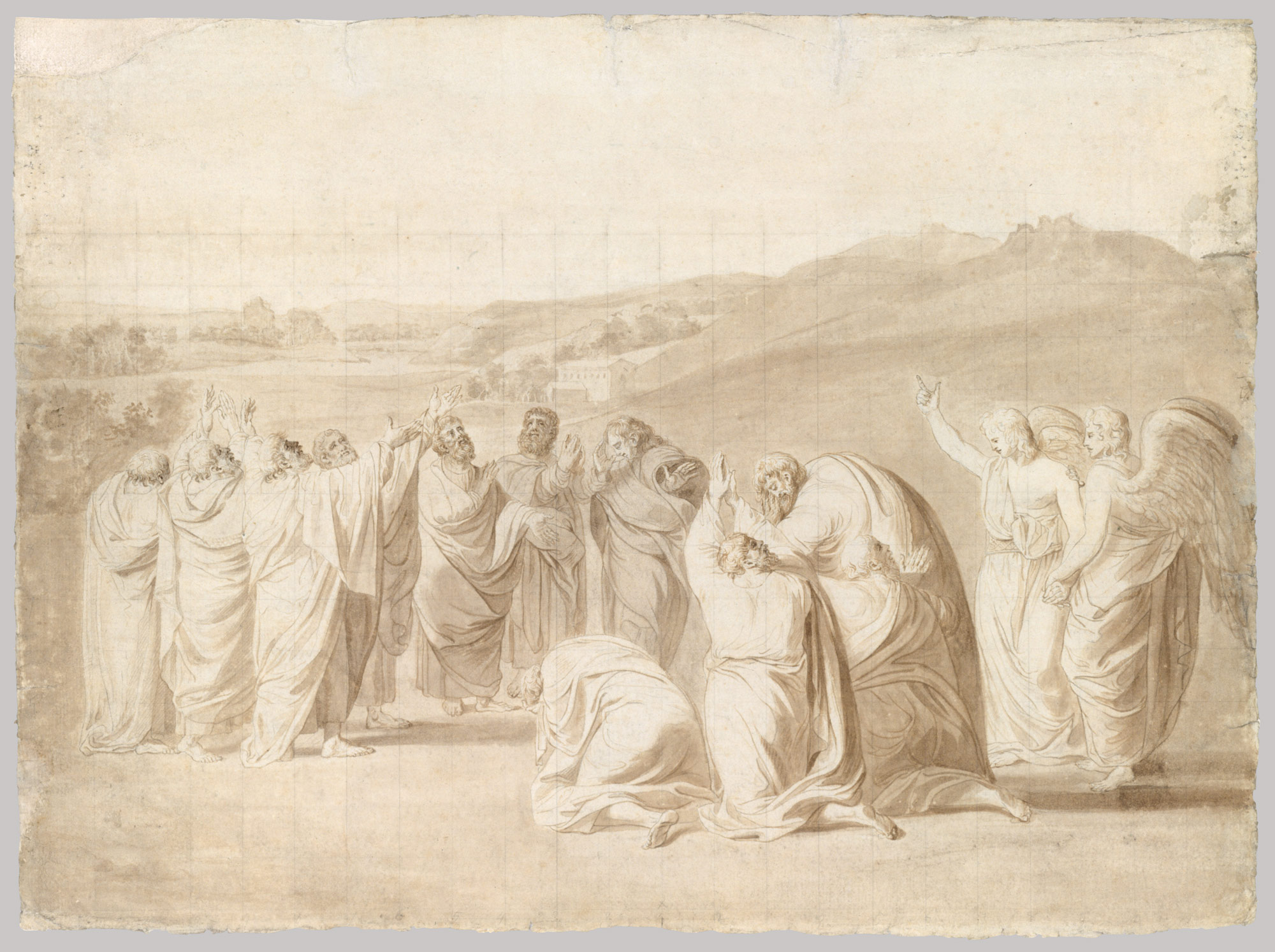 Study for The Ascension