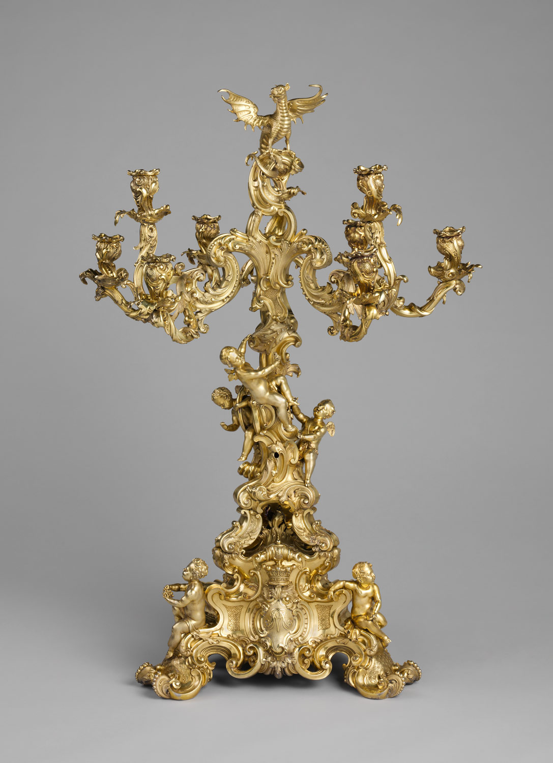 Nine-light candelabrum