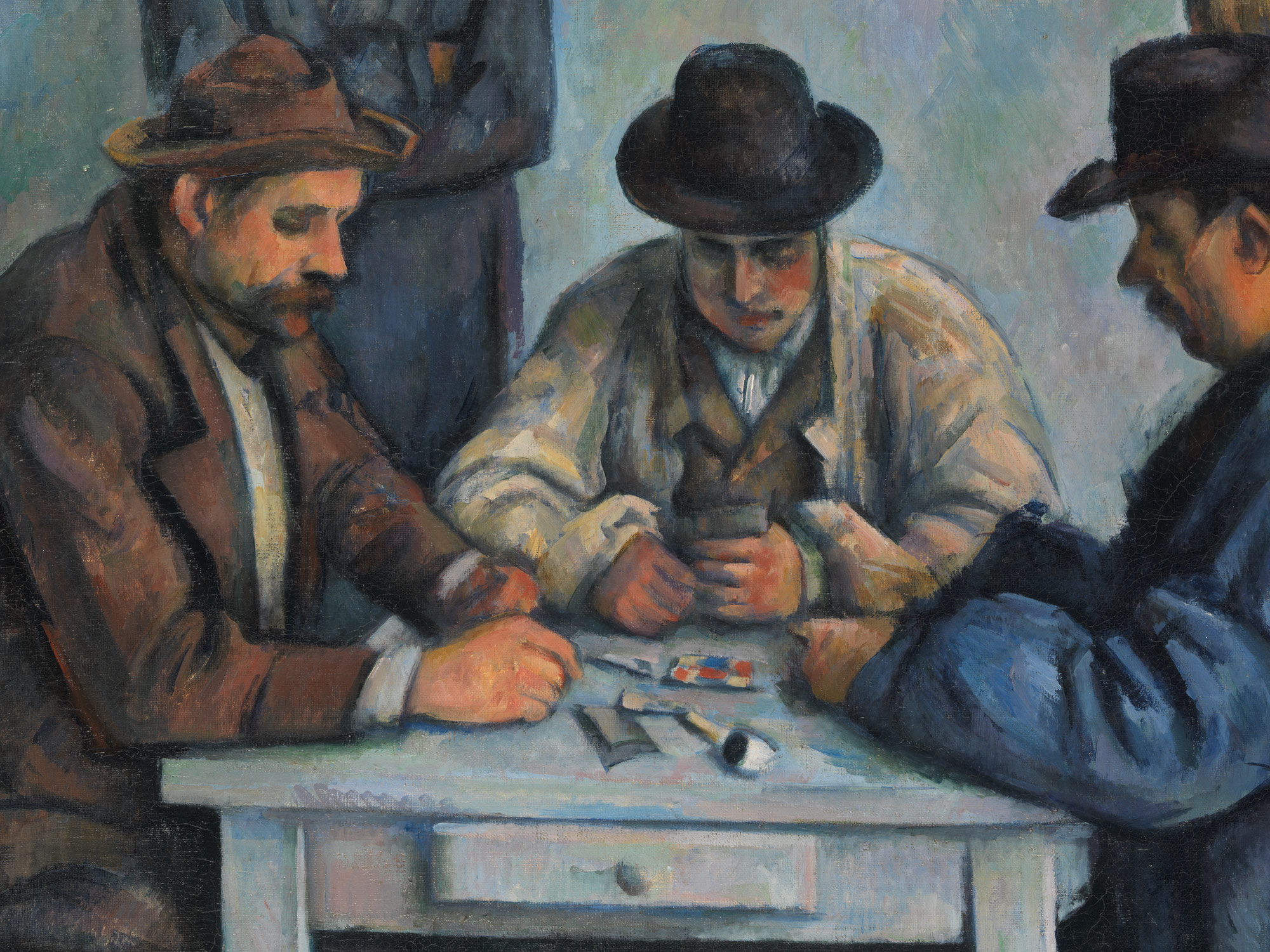 The Card Players Paul Cézanne Work Of Art Heilbrunn - Who painted the card players