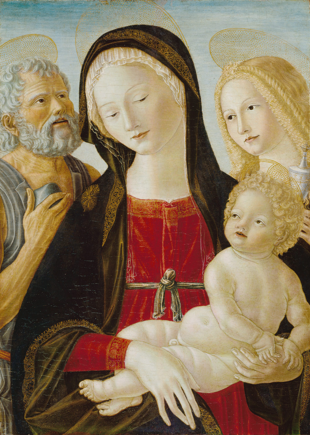 Madonna and Child with Saints Jerome and Mary Magdalene