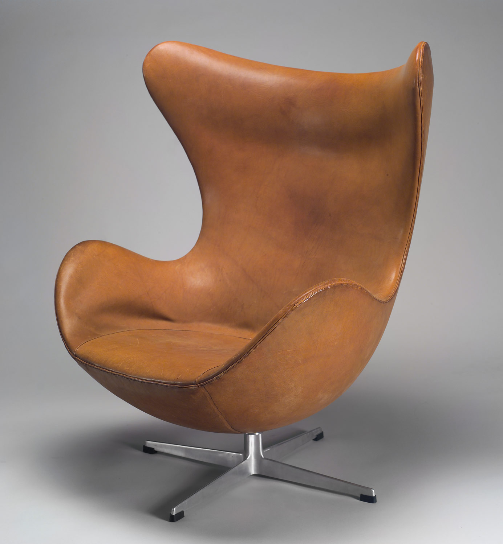 """Egg"""" Armchair Arne Jacobsen 61 7 46 Work of Art"""