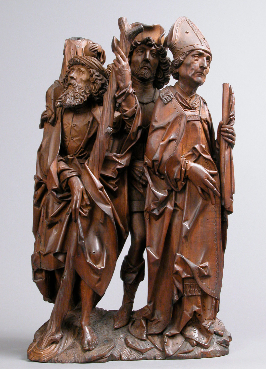 Saints Christopher, Eustace, and Erasmus (Three Helper Saints)