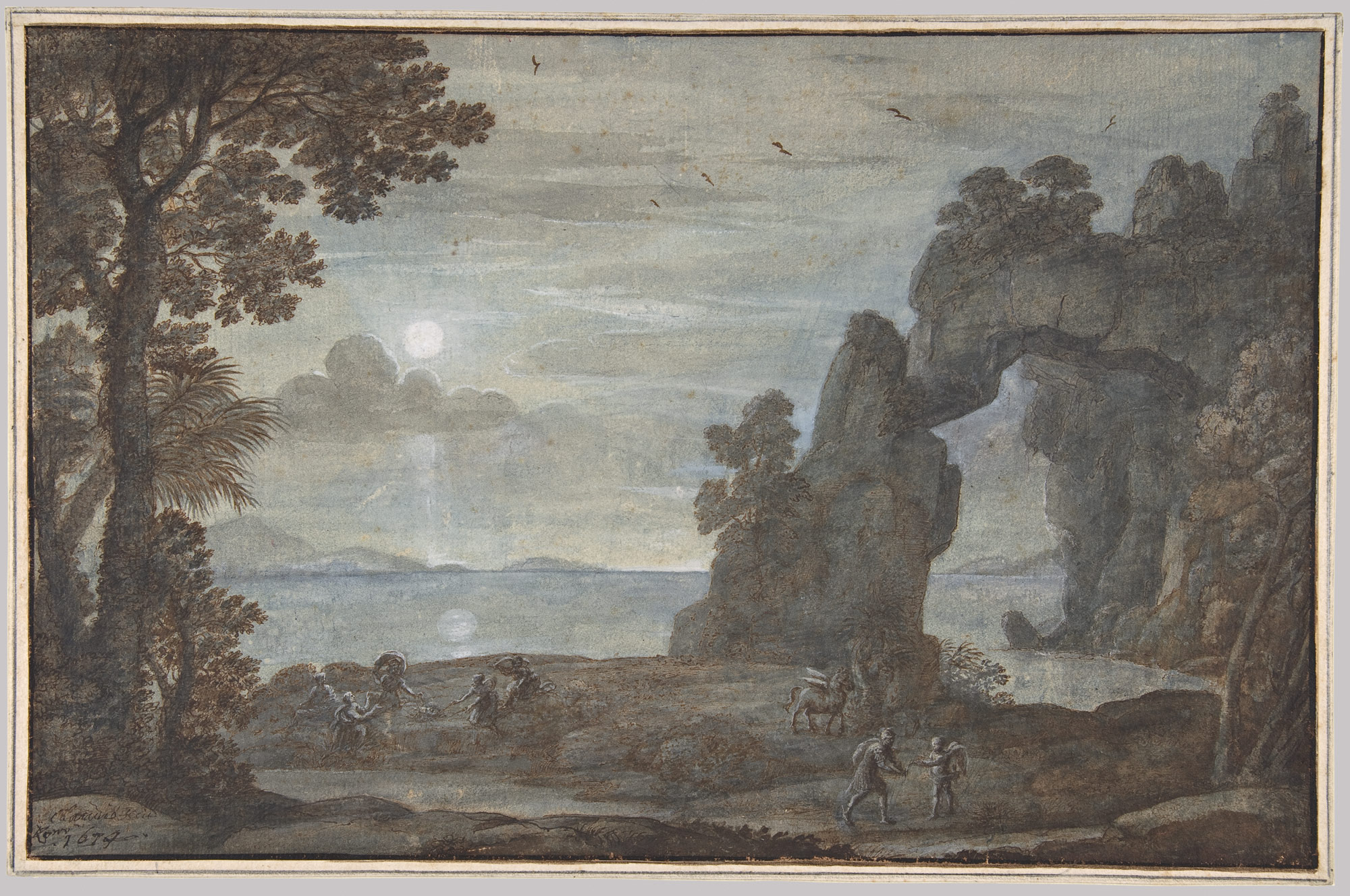 coast view perseus and the origin of coral claude lorrain coast view perseus and the origin of coral