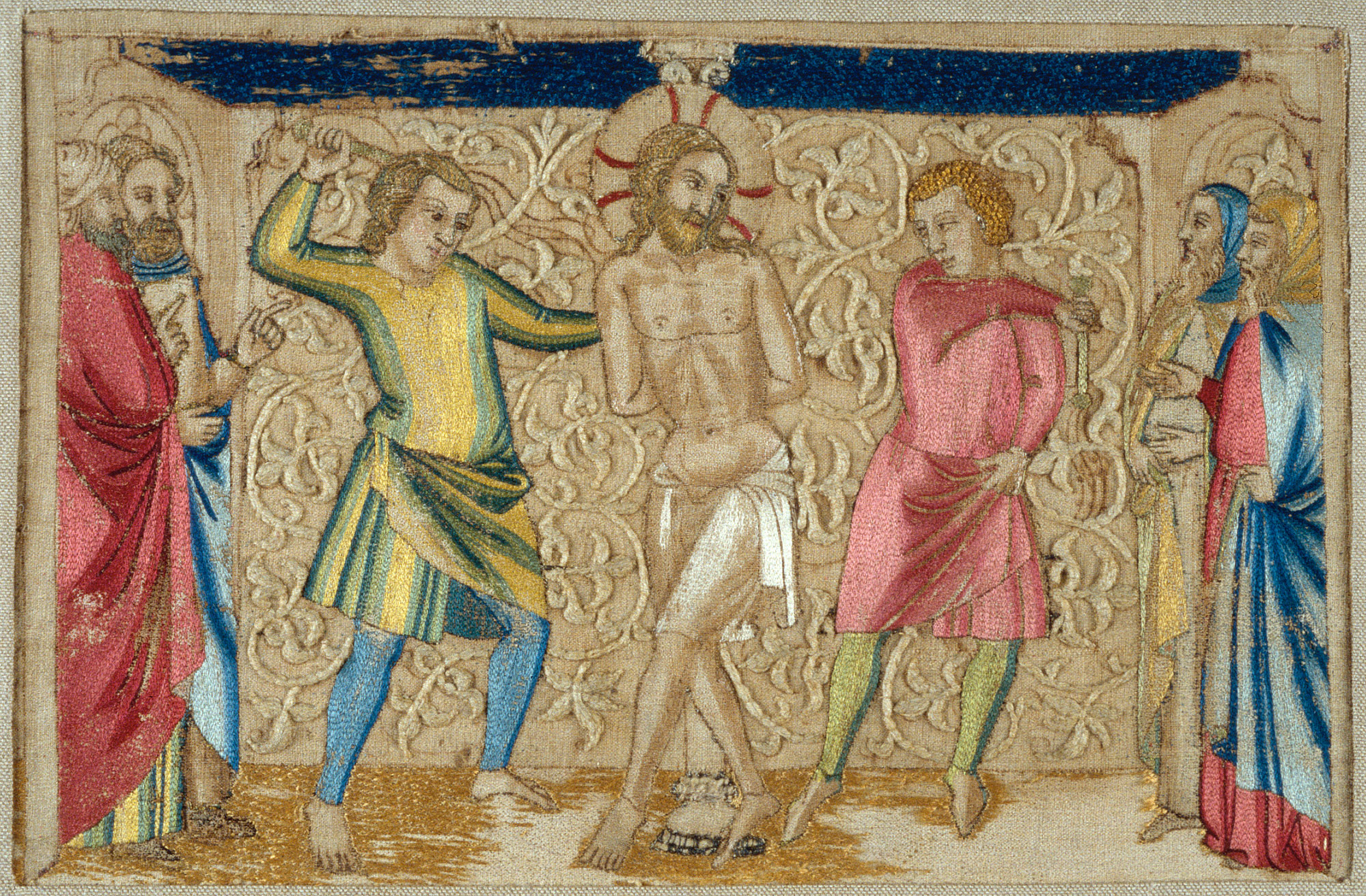 Panel from an Altar Frontal: The Flagellation