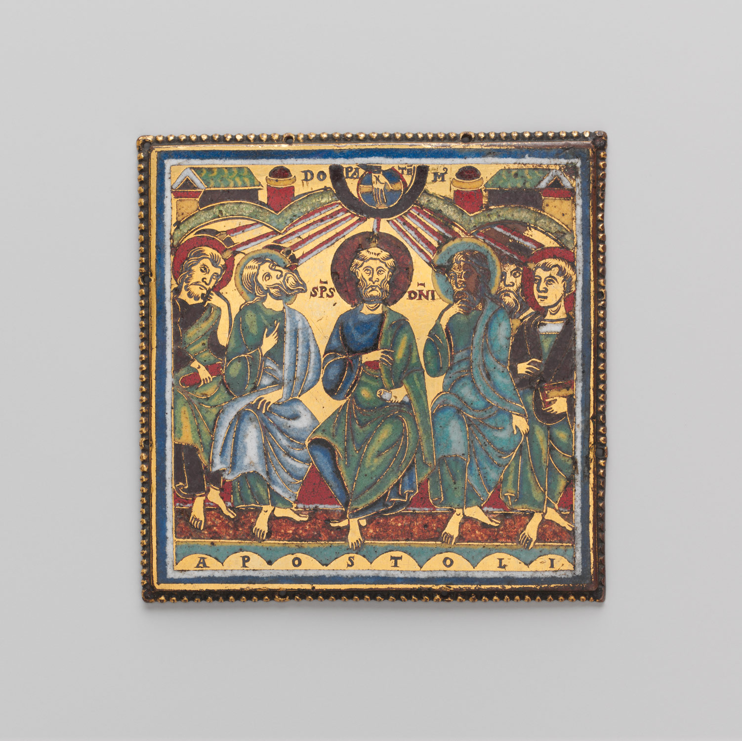 Plaque with the Pentecost