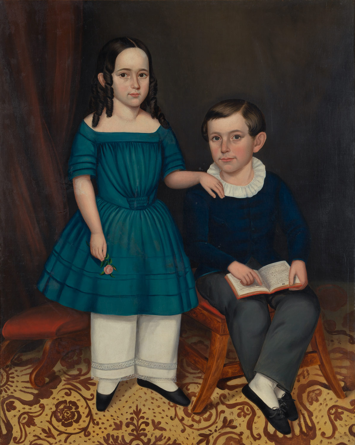 John and Louisa Stock