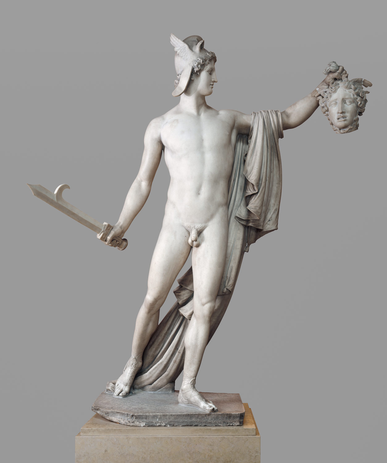 Perseus With The Head Of Medusa Antonio Canova 67 110 1
