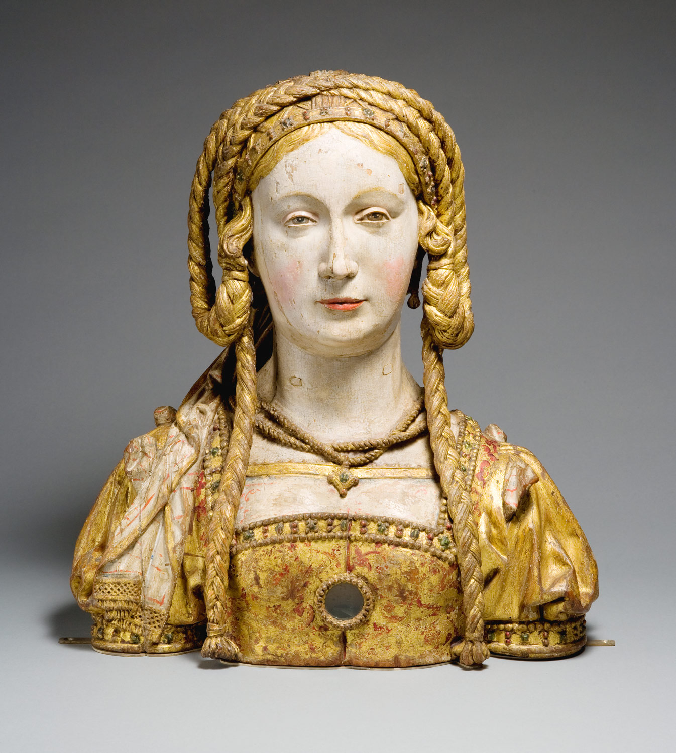Reliquary Bust Of Saint Balbina Work Of Art Heilbrunn