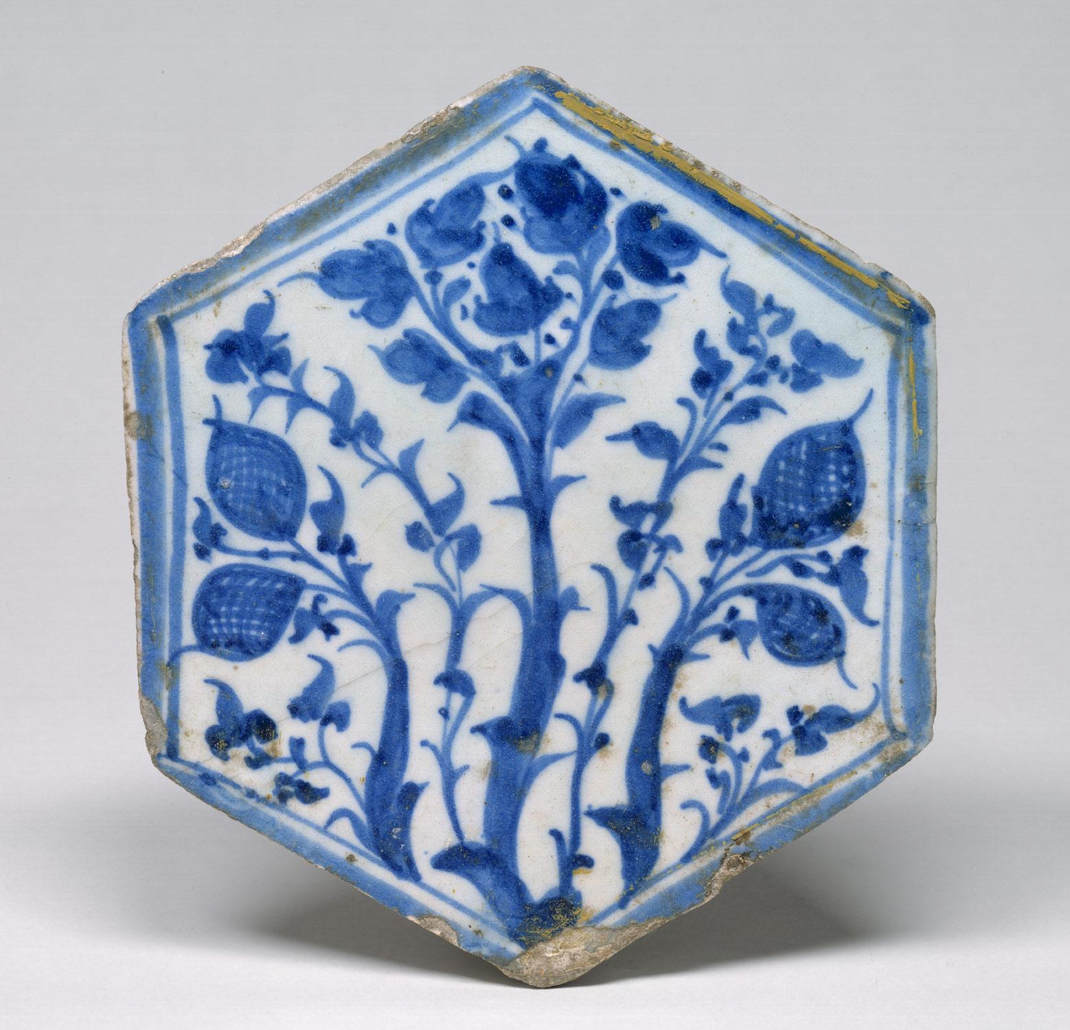 Hexagonal Tile | Work of Art | Heilbrunn Timeline of Art History ...
