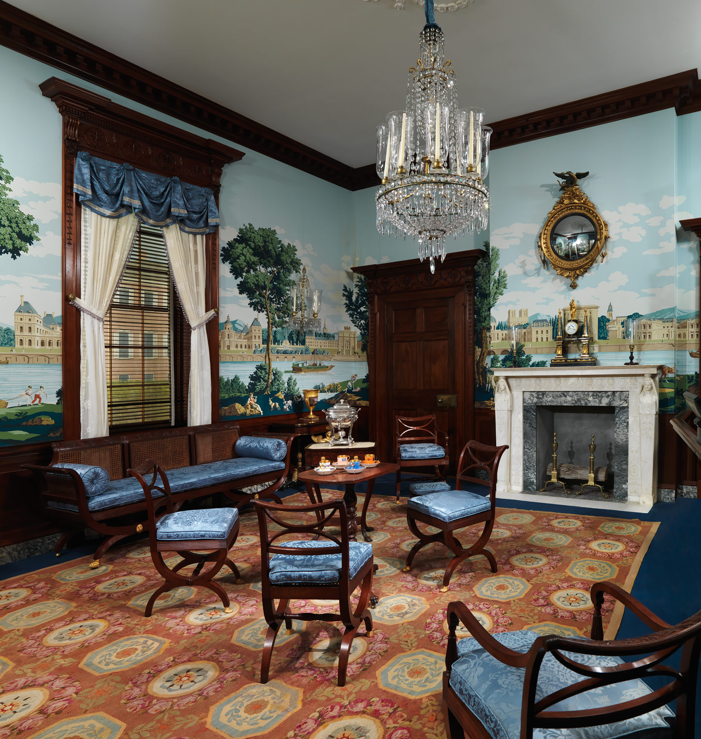 American Federal Era Period Rooms Essay Heilbrunn