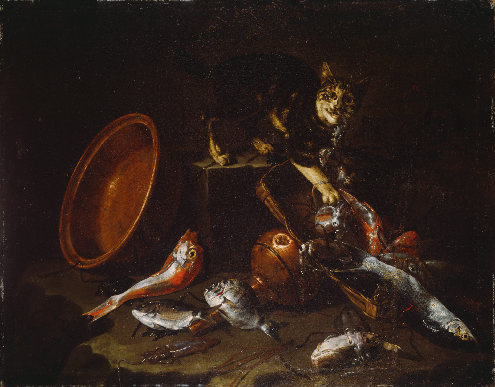 still life painting in southern europe essay a cat stealing fish