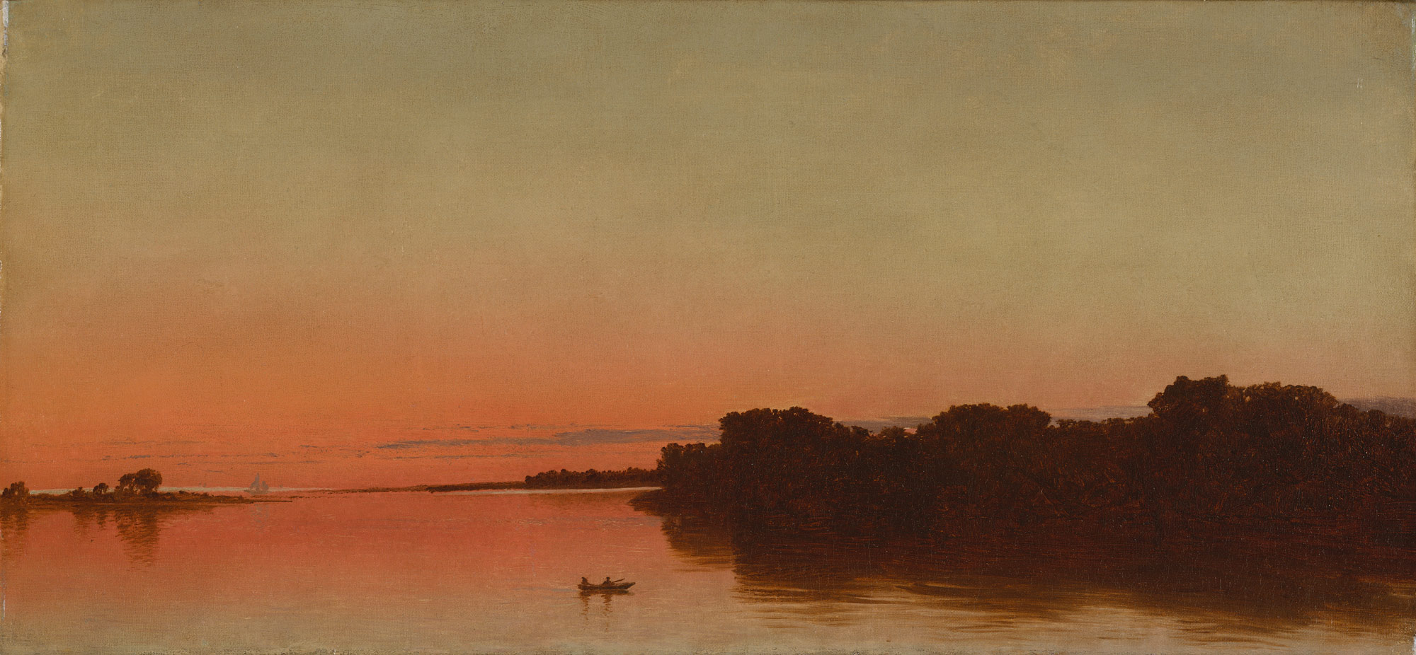 Twilight on the Sound, Darien, Connecticut