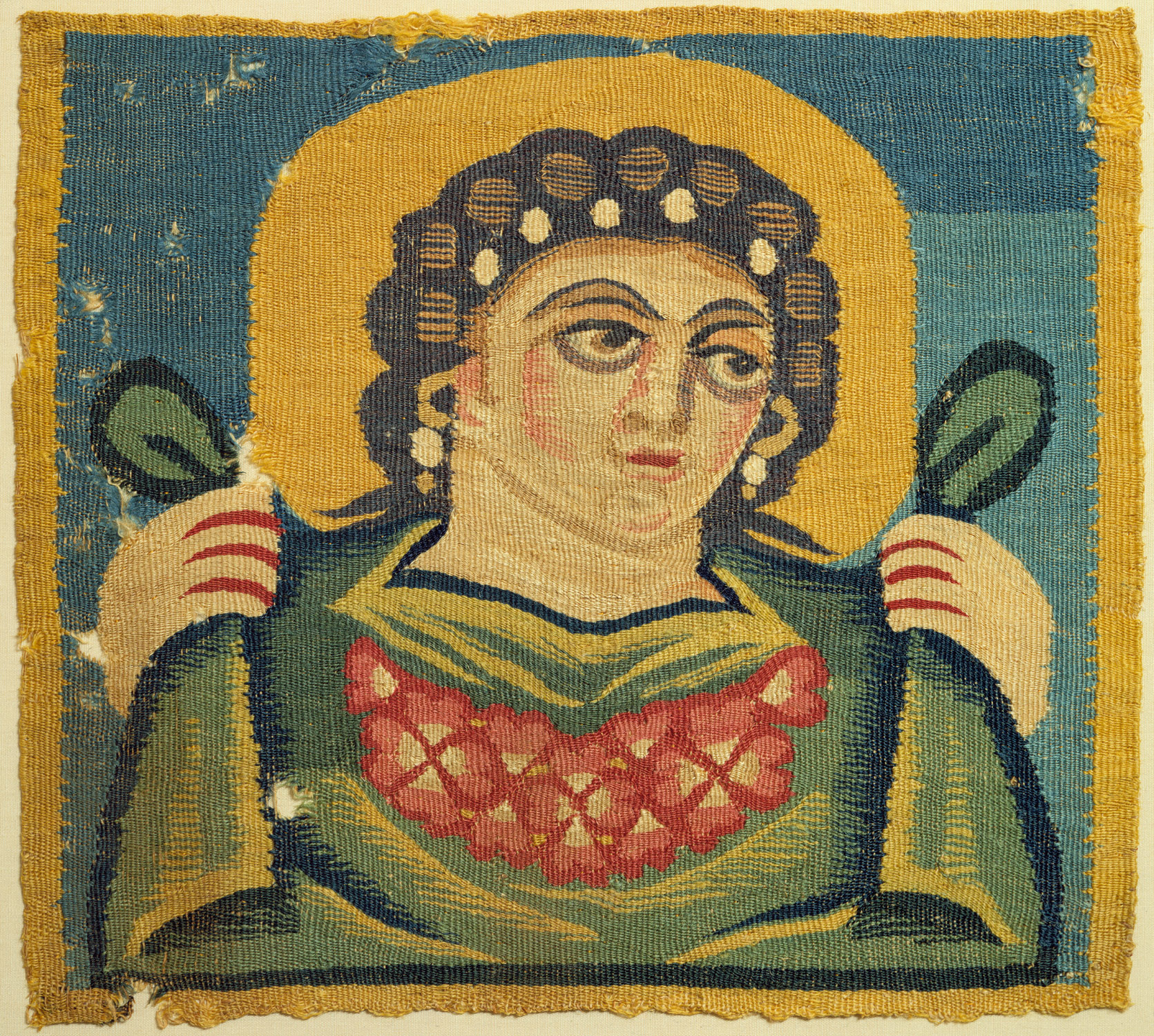 Tapestry Square with the Head of Spring