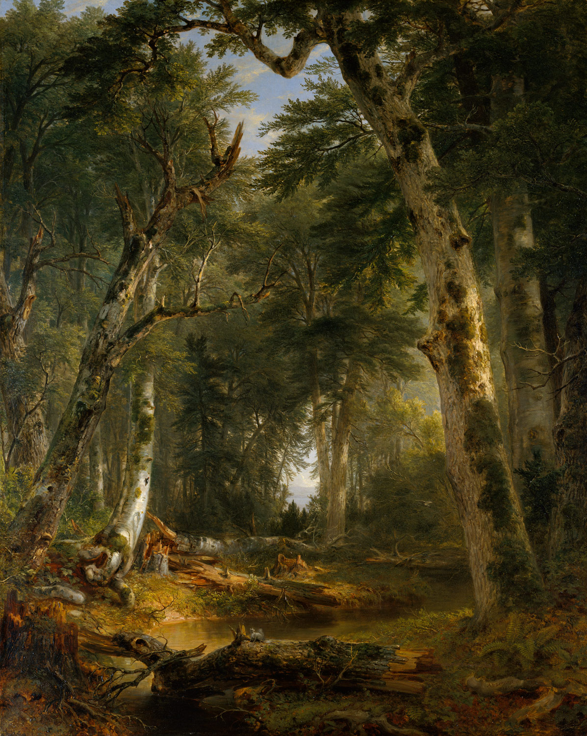 The Woods Wood Be Quiet If No Birds Sang Except The Best: Asher Brown Durand