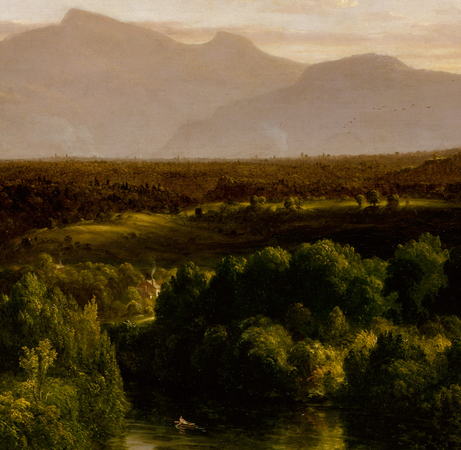 View on the Catskill—Early Autumn